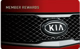 Kia Member Rewards card at Applewood Surrey