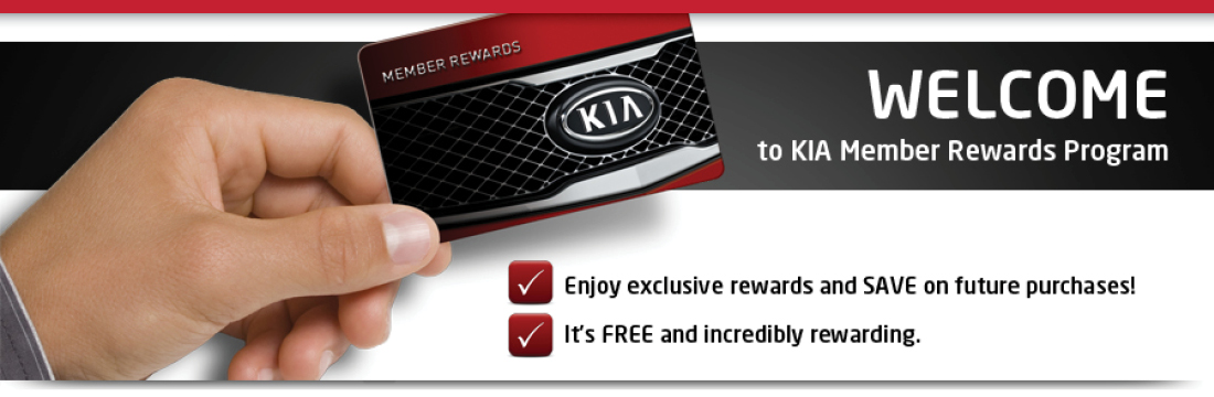 Kia Member Rewards Program at Applewood Surrey