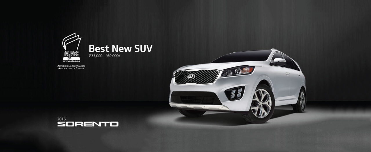 2016 Kia Sorento - Best New SUV - Surrey, BC