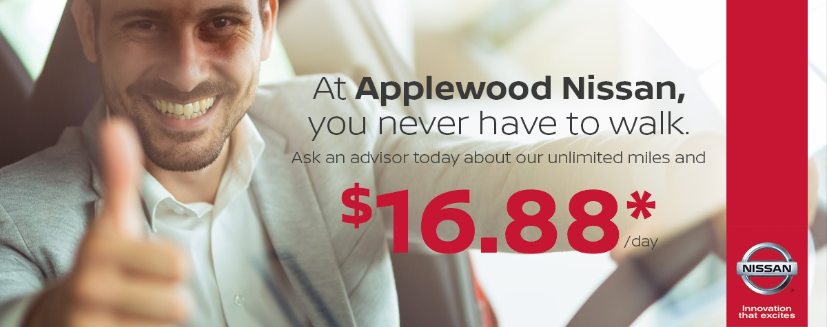 Applewood Nissan Special