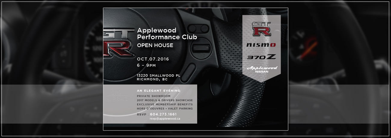 Applewood Performance Club Sign Up