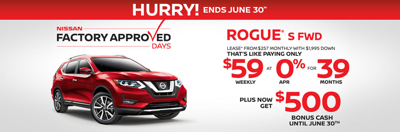 June Mid-Month Nissan Offer