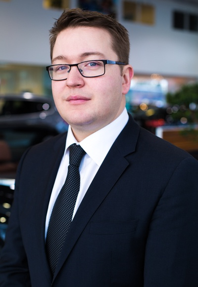 Jonathon-Gagnon, Pre-Owned Sales Manager