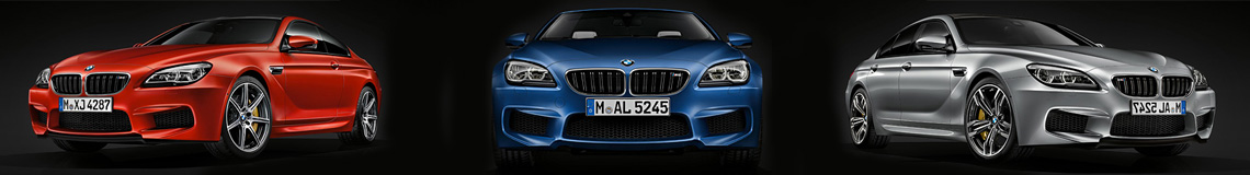 2016 BMW M6 Cabriolet, Coupe, and Gran Coupe