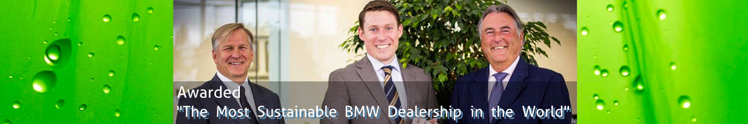 The Most Sustainable BMW Dealership in the World