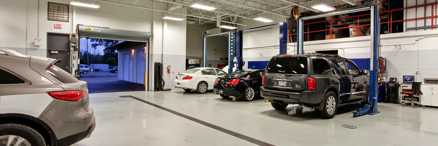 Vehicle Service Bay