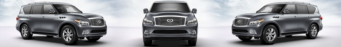 Infiniti QX80 at Auto West Infiniti in Richmond BC
