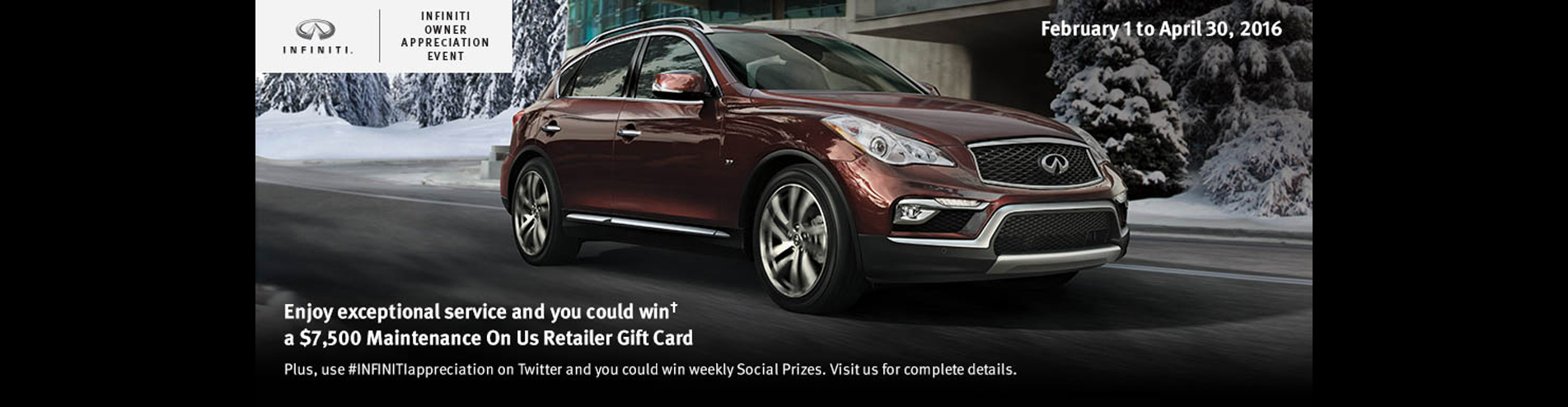 Auto West Infiniti February Incentive | Richmond BC