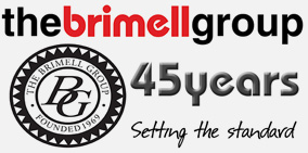 Brimell Group 45 Years Anniversary Logo