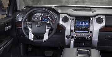 Toyota vehicle interior