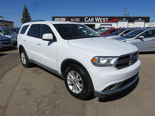 Pre-owned Dodge Durango vehicle at Car West, Used Car Dealer in Leduc