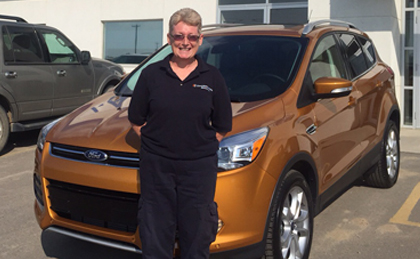 Congrats to June George on her 2016 Ford Escape.