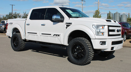 White Custom Ford Truck in Humboldt, SK