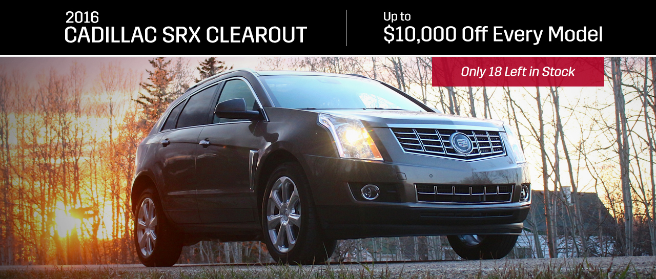 Cadillac SRX Clearout