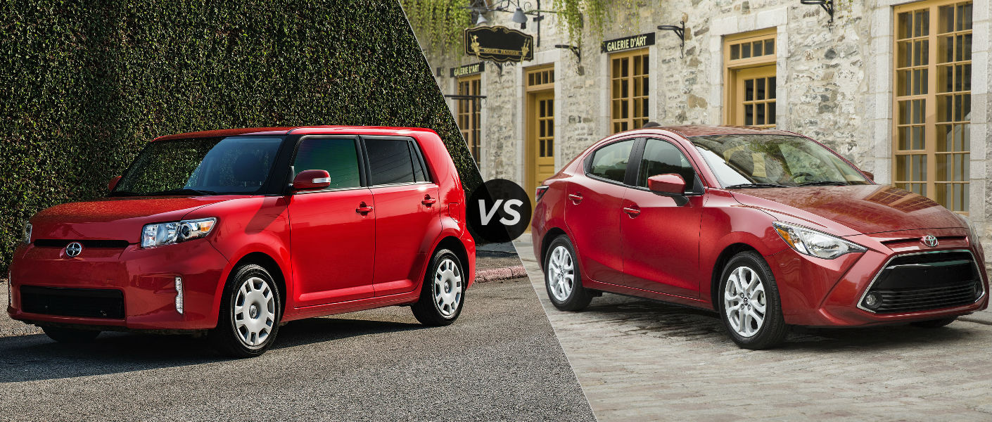 2015 Scion xB vs 2015 Toyota Yaris