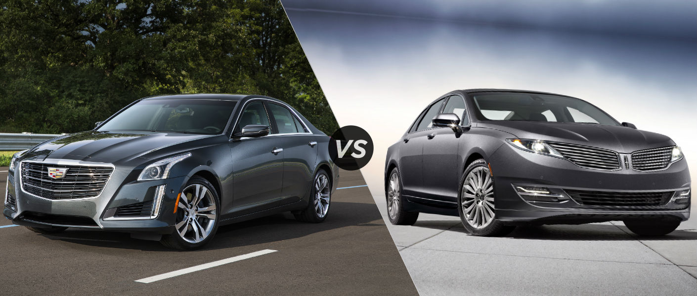 2016 cadillac cts vs 2016 lincoln mkz. Black Bedroom Furniture Sets. Home Design Ideas