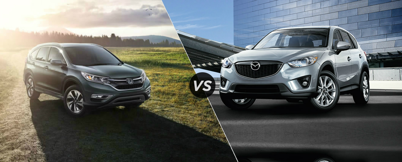 2015 Honda CR-V vs 2015 Mazda CX-9