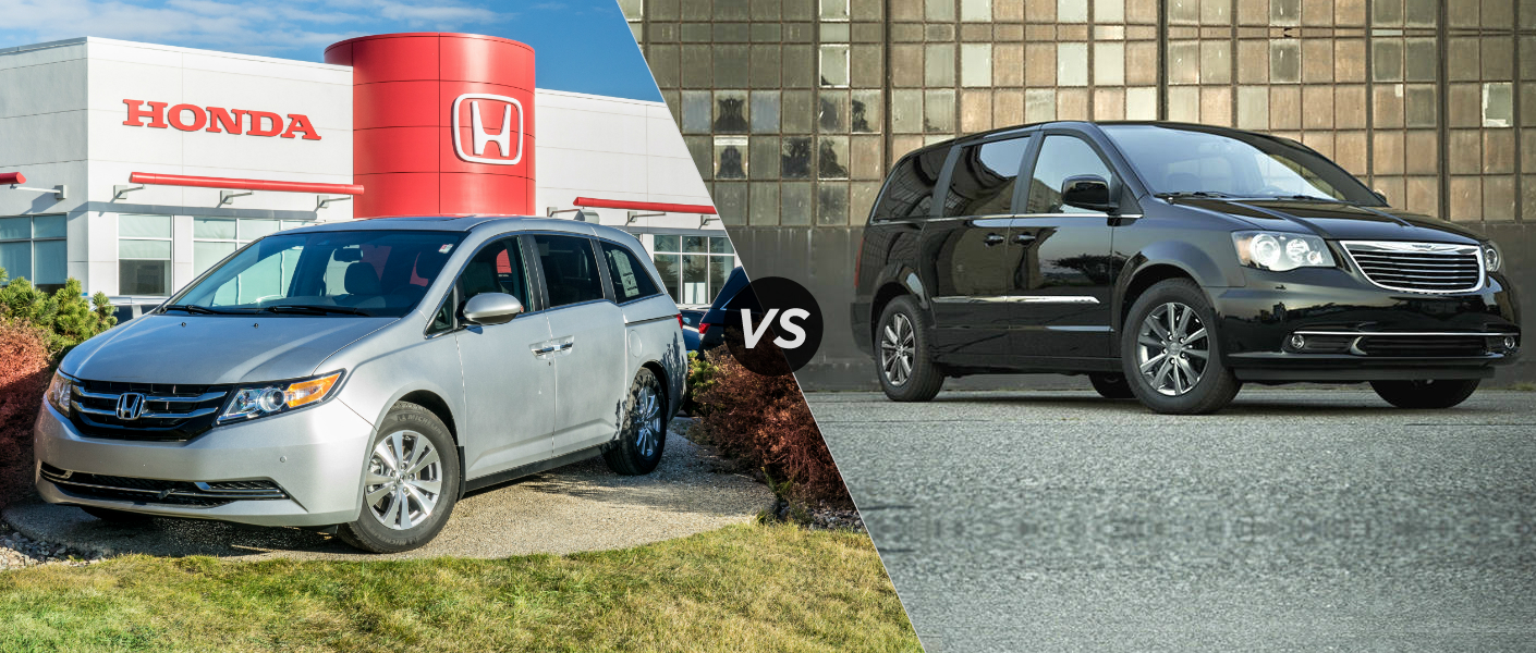 2015 Honda Odyssey vs 2015 Chrysler Town and Country