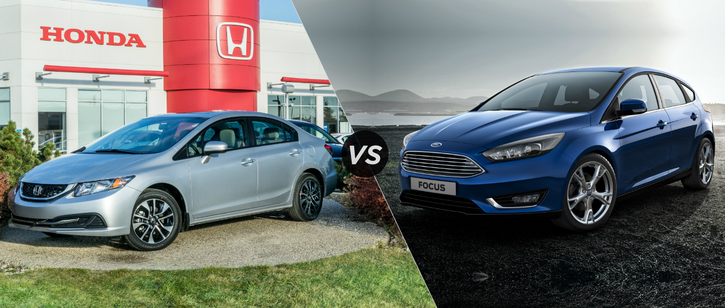 2015 Honda Civic vs 2015 Ford Focus
