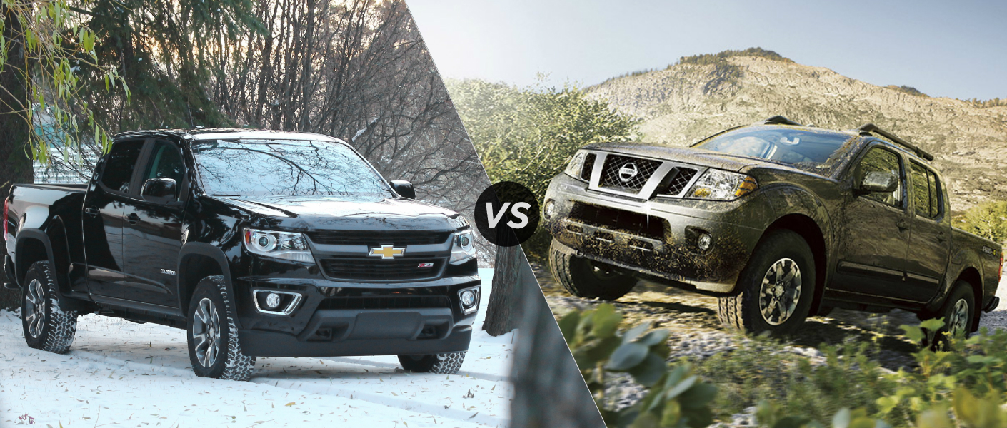 2015 Chevy Colorado vs 2015 Nissan Frontier
