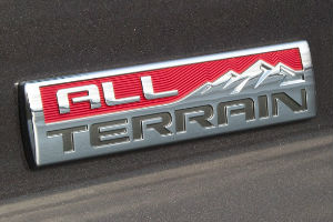 GMC All-Terrain Package Research