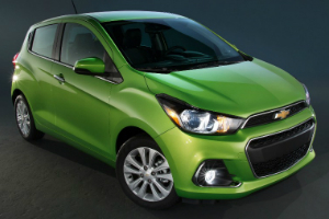 Chevy Spark Model Research