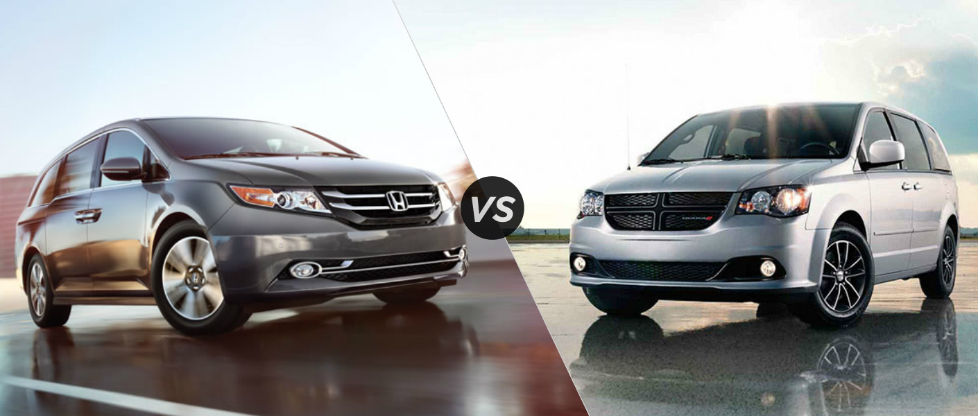 2015 Honda Odyssey vs 2015 Dodge Grand Caravan