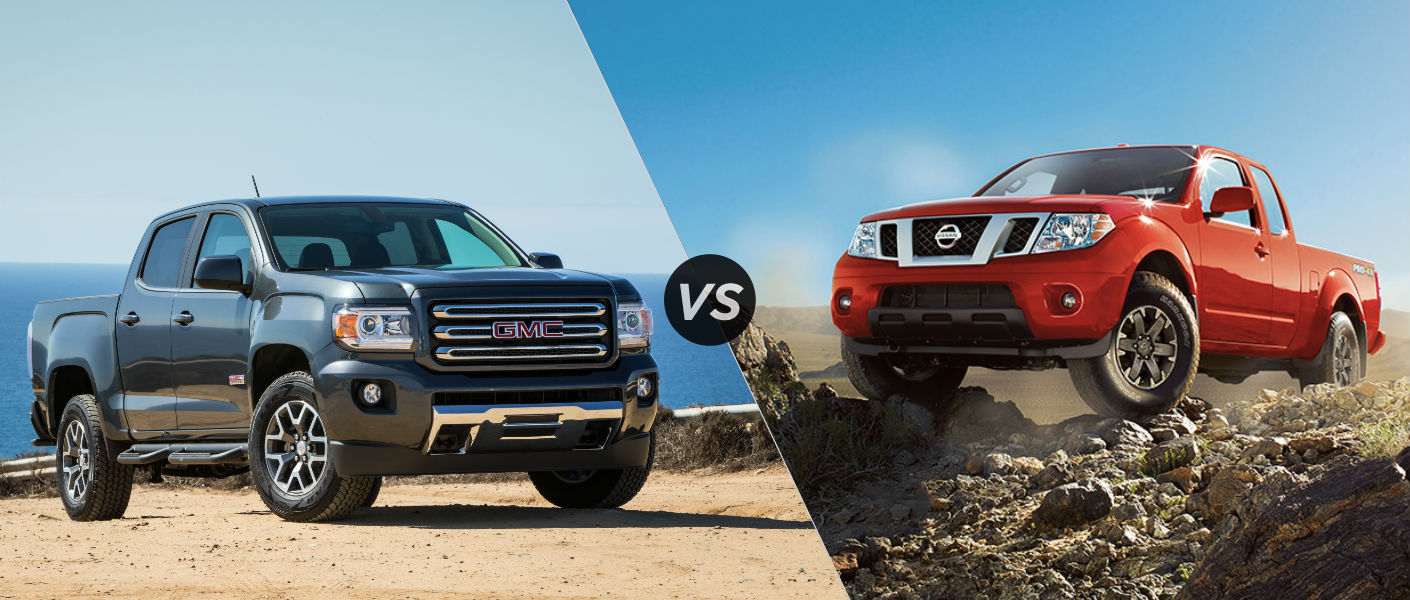 2015 GMC Canyon vs 2015 Nissan Frontier