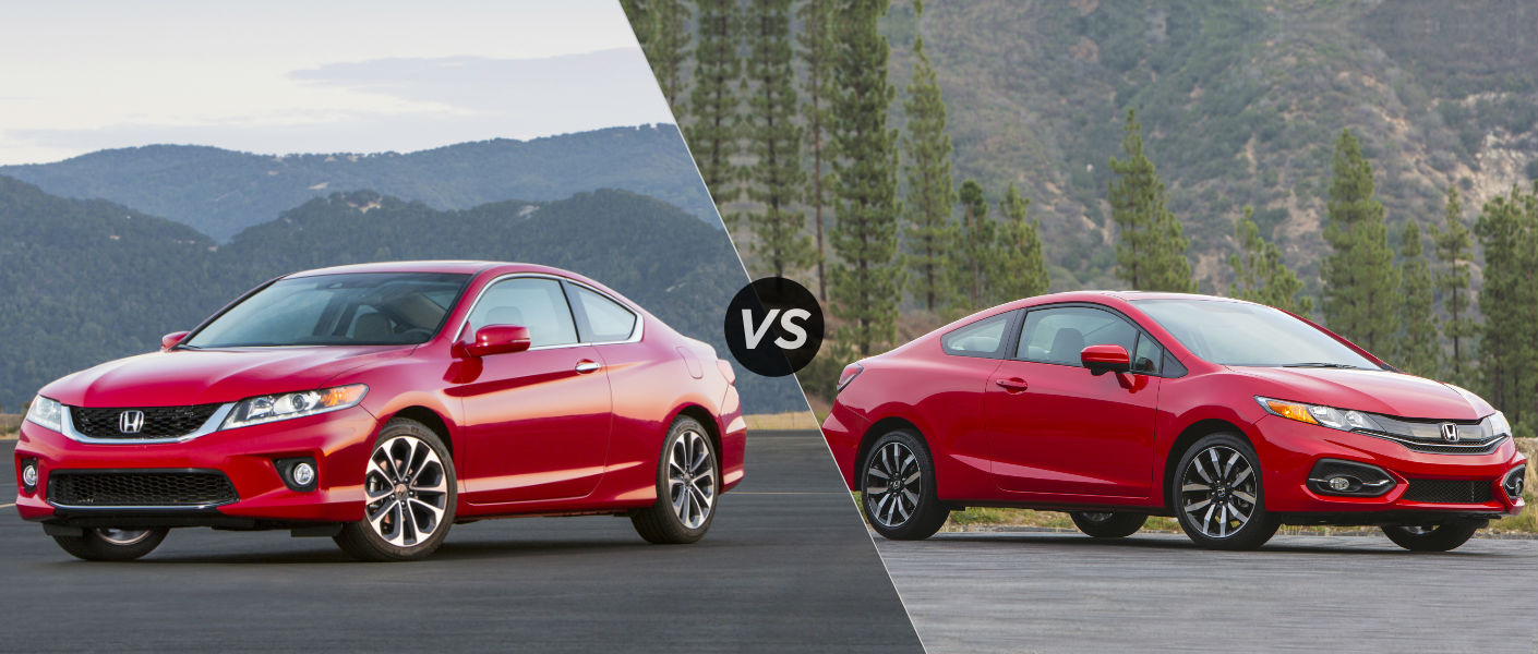 2015 Honda Accord vs 2015 Honda Civic