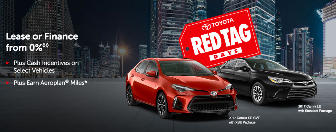 May Toyota incentive