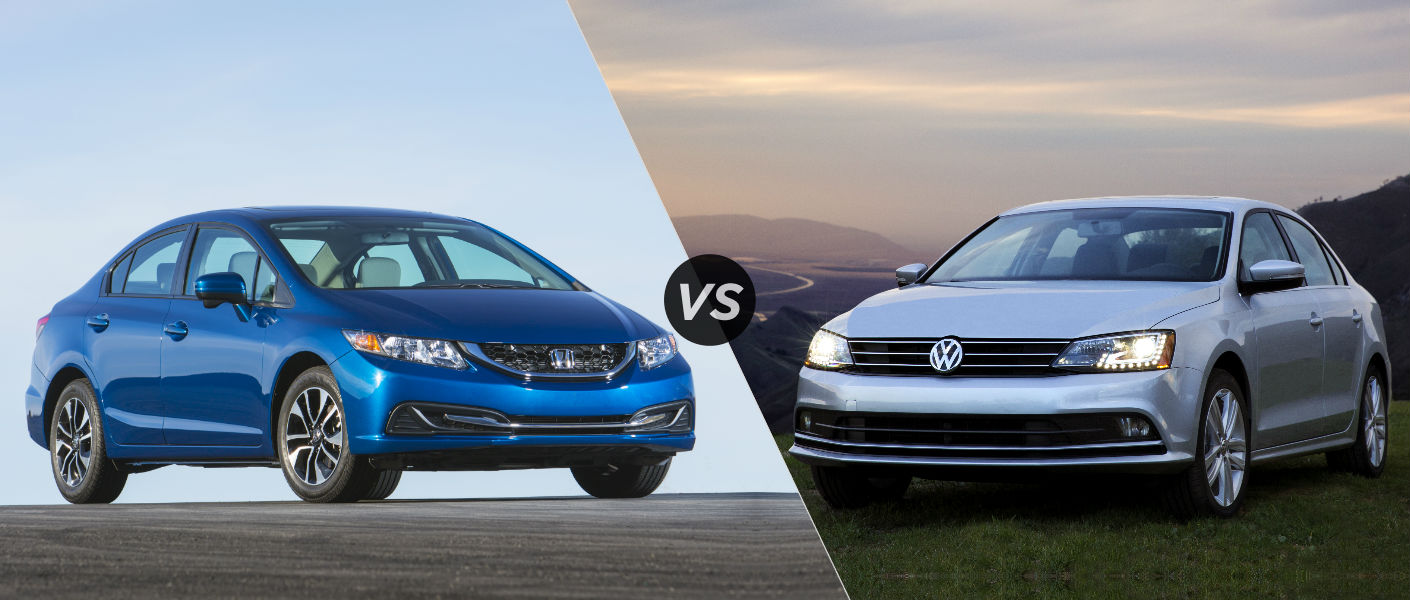 2015 Honda Civic vs 2015 Volkswagen Jetta