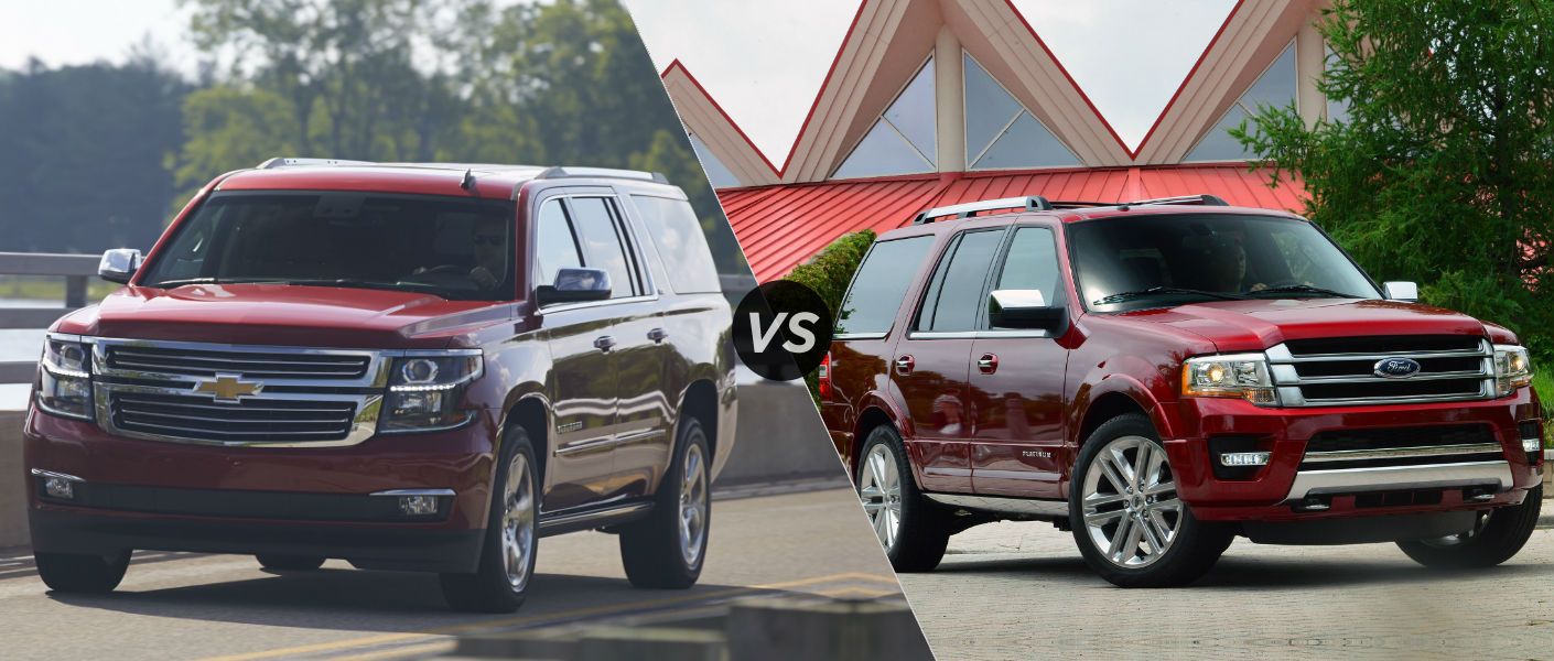 2015 Chevy Suburban vs 2015 Ford Expedition