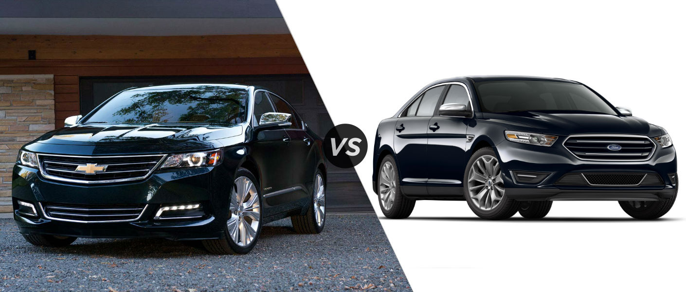 2015 Chevy Impala vs 2015 Ford Taurus