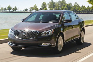 Buick LaCrosse Comparisons
