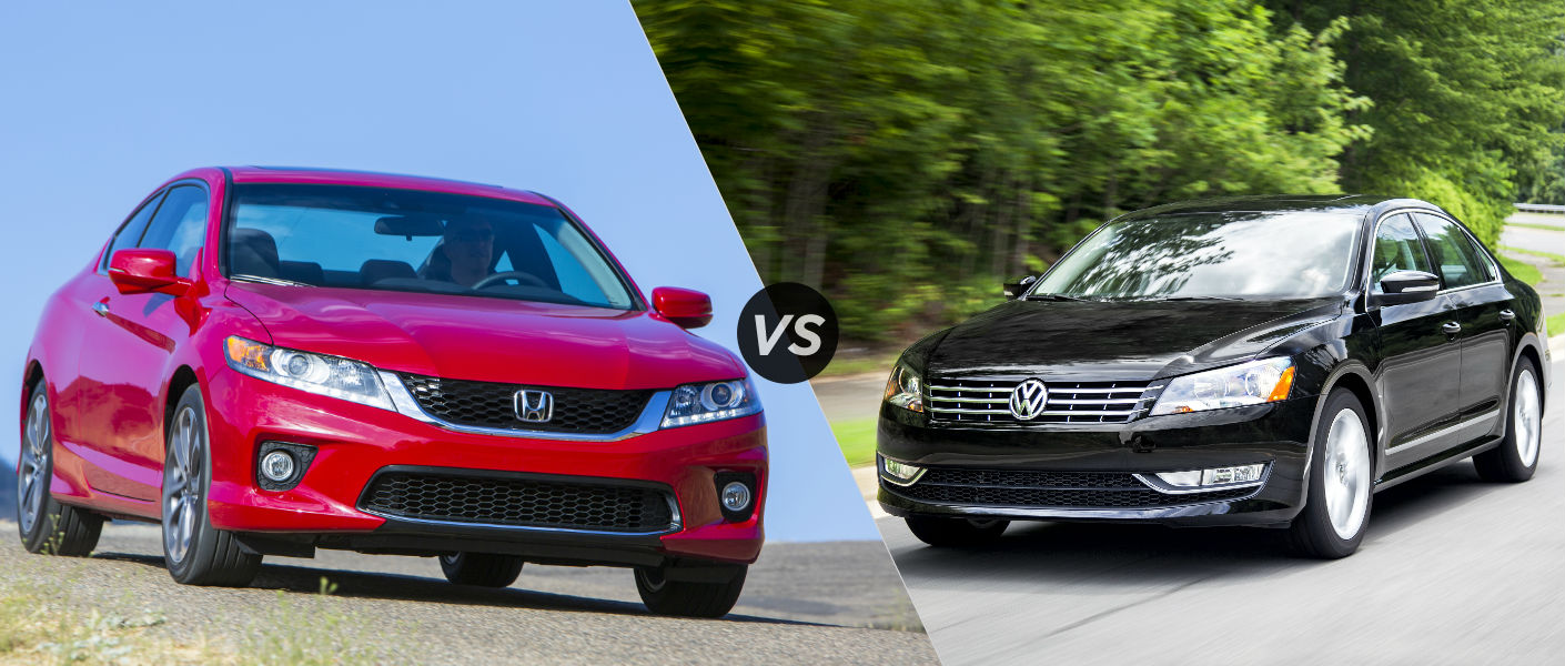 2015 Honda Accord vs 2015 Volkswagen Passat
