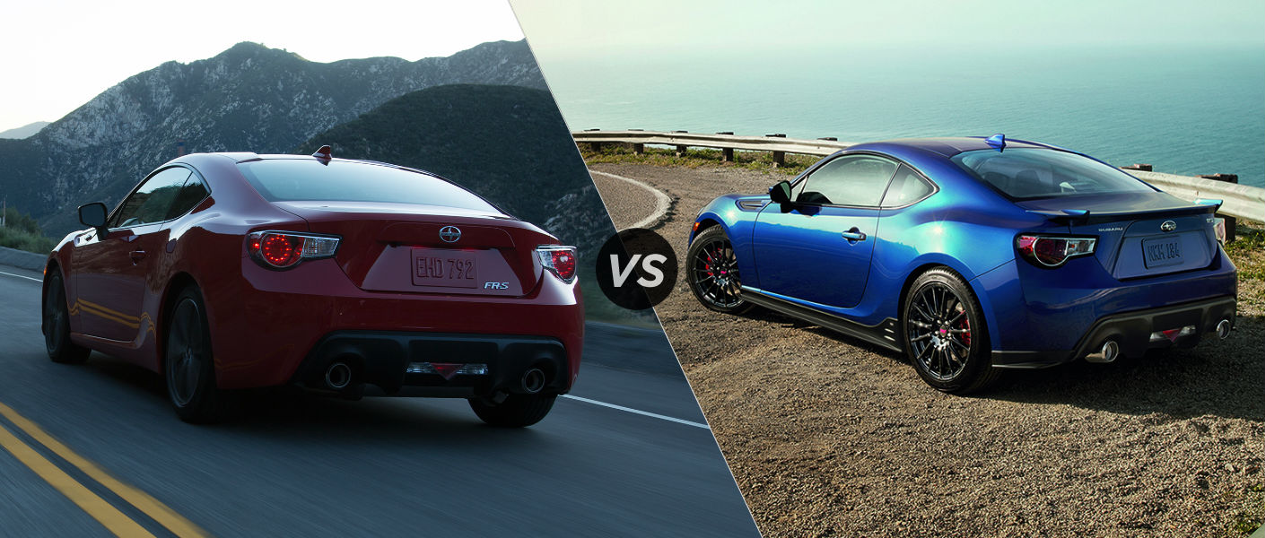 2015 Scion FRS vs 2015 Subaru BRZ
