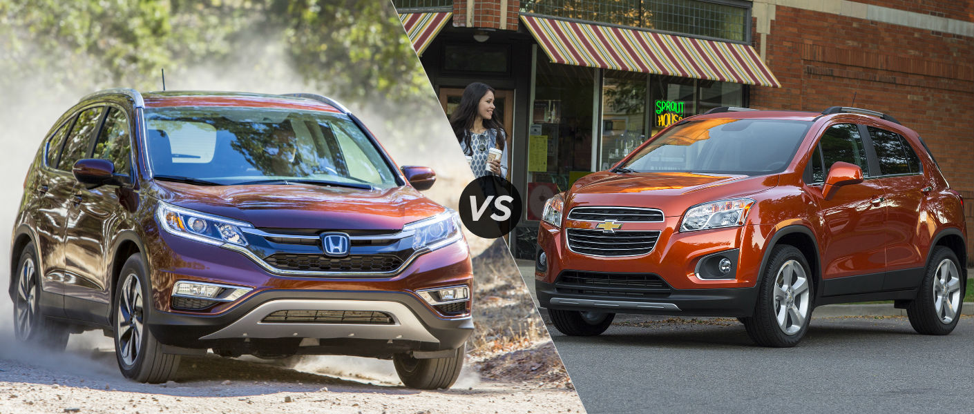 2015 Honda CRV vs 2015 Chevy Trax