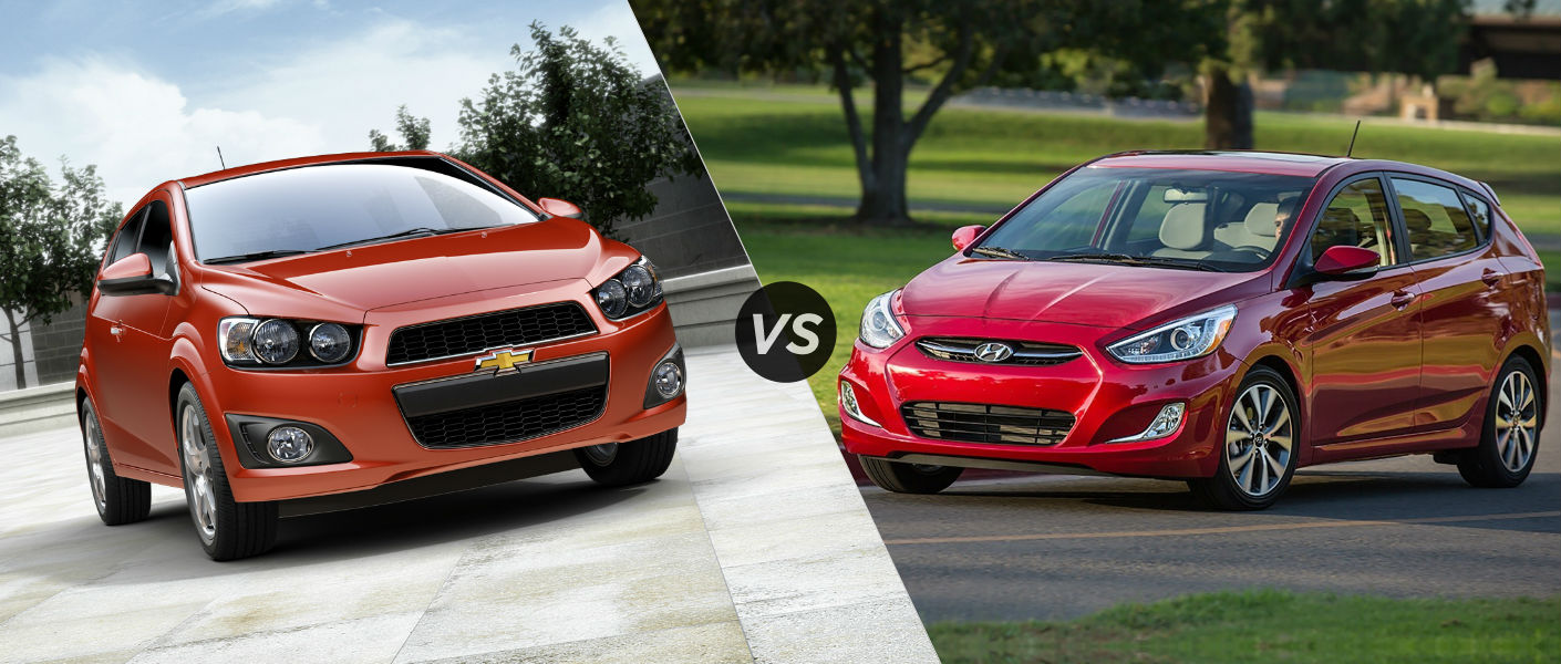 2015 Chevy Sonic vs 2015 Hyundai Accent