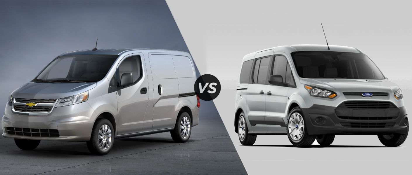 2015 Chevy City Express vs 2015 Ford Transit Connect