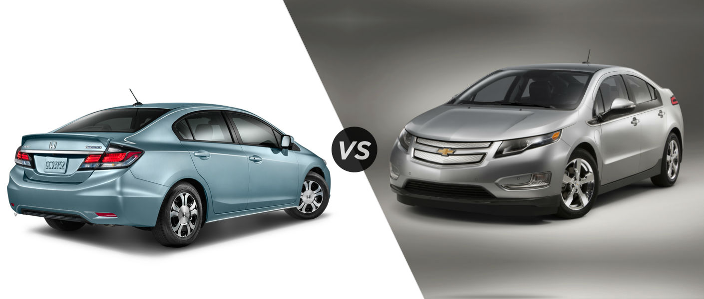 2015 Honda Civic Hybrid vs 2015 Chevy Volt
