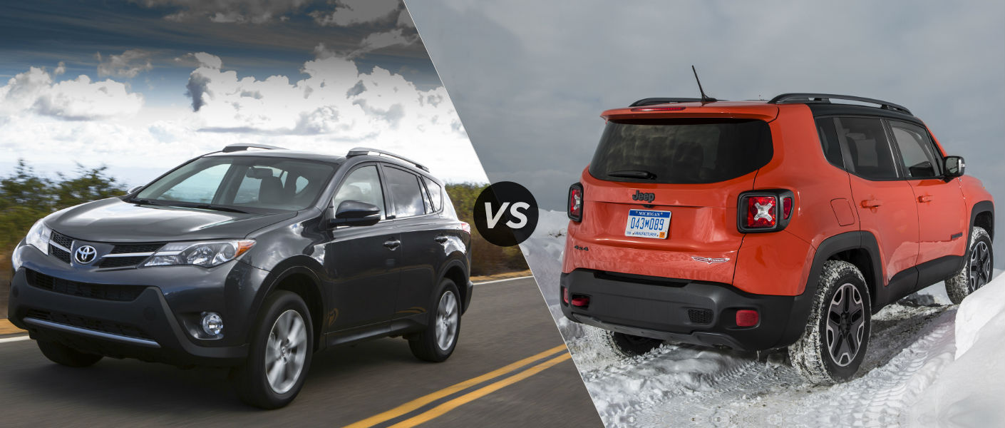 2015 Toyota RAV4 vs 2015 Jeep Renegade