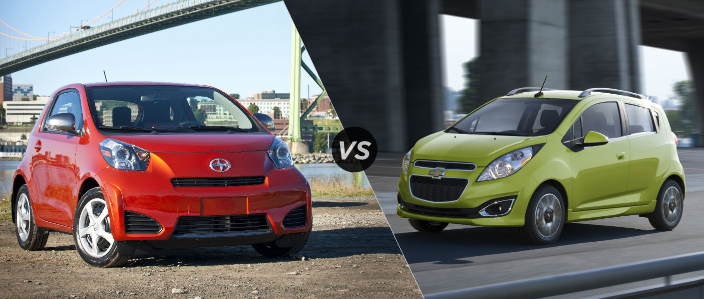 2015 Scion iQ vs 2015 Chevy Spark