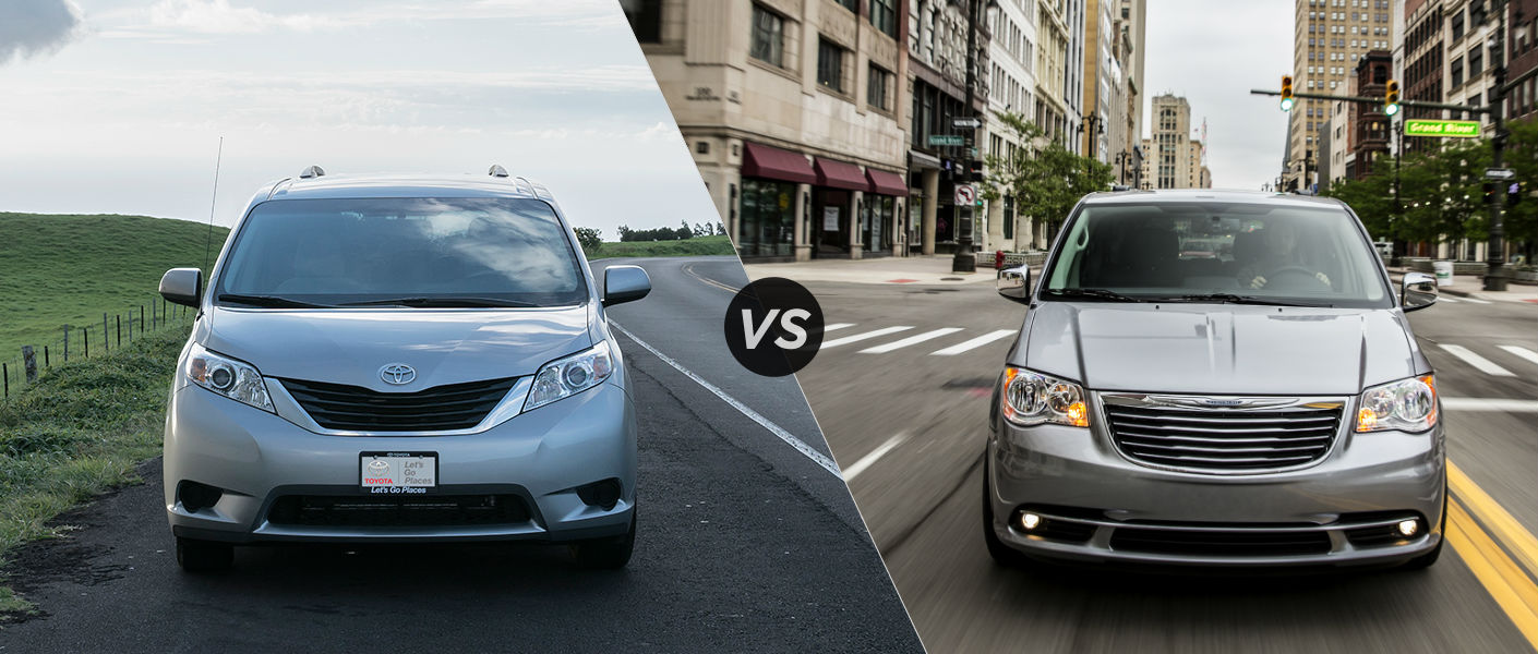 2015 Toyota Sienna vs 2015 Chrysler Town and Country