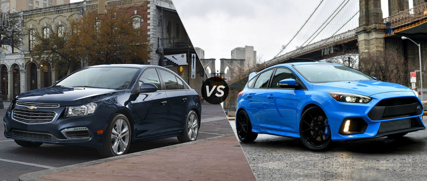 2016 Chevy Cruze Limited vs 2016 Ford Focus