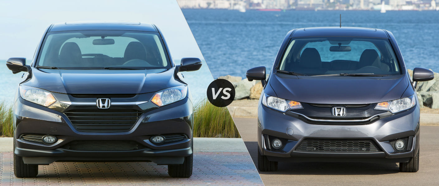 2016 Honda HRV vs 2016 Honda Fit