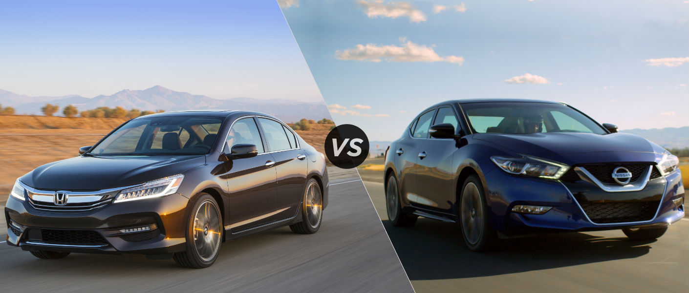 2016 Honda Accord vs 2016 Nissan Maxima