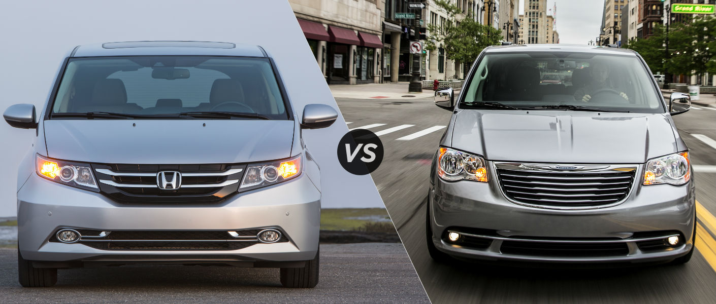 2016 Honda Odyssey vs 2016 Chrysler Town and Country