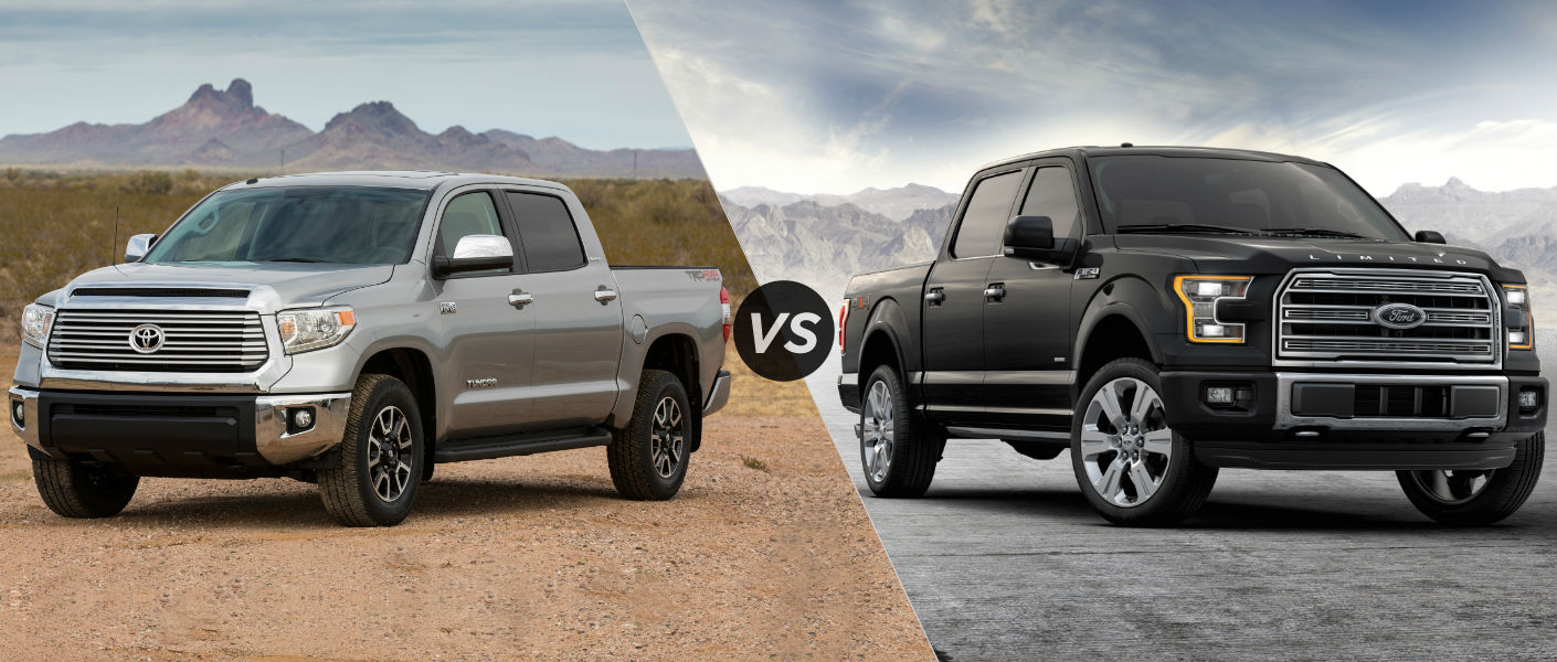 2016 Toyota Tundra vs 2016 Ford F150
