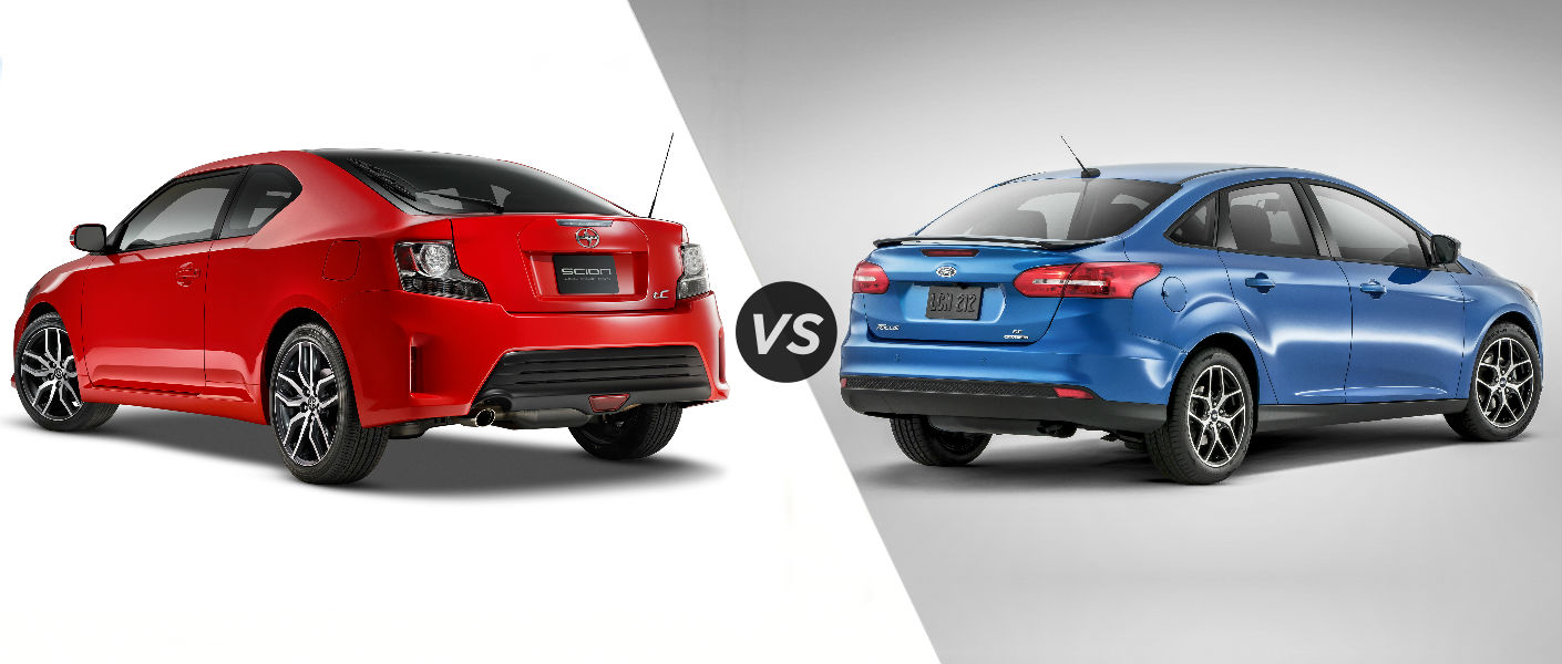 2016 Scion tC vs 2016 Ford Focus