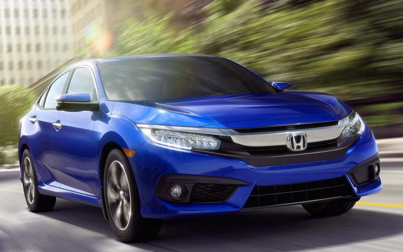2016 Honda Civic model in Edson, AB